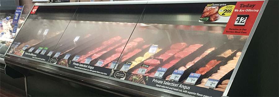 Retail Meat Humidification
